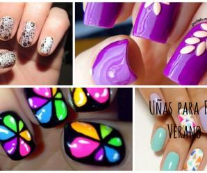 Más de 15  ideas de uñas para final del verano 2016