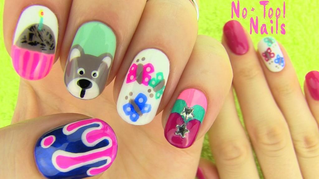 nails-without-nail-art-tools-5-nail-art-designs