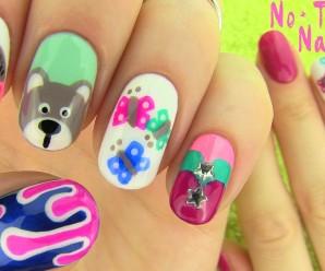 5 diseños de uñas sin costosas herramientas
