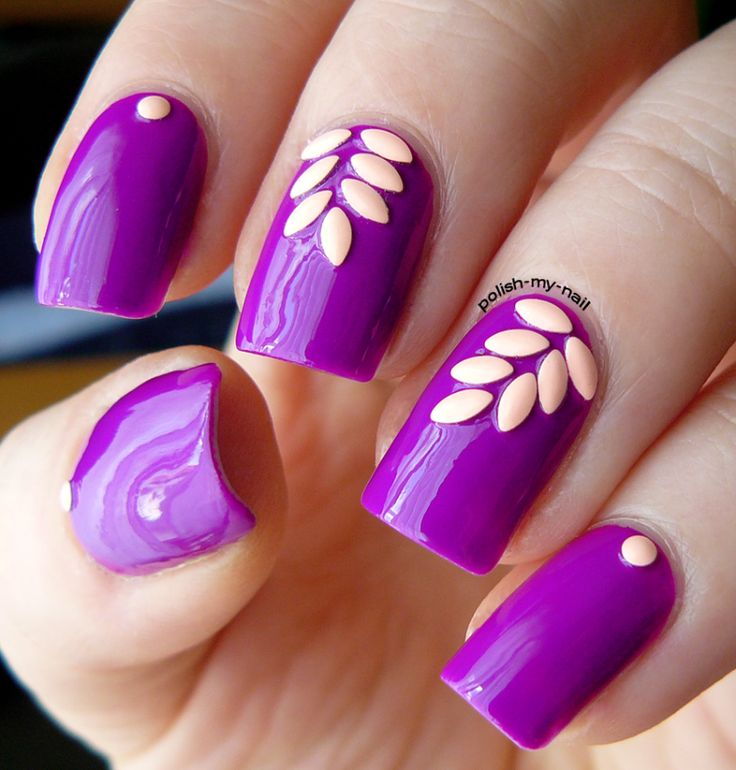 diseños de uñas otoño 2016
