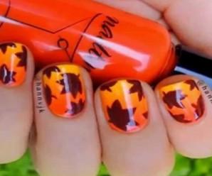 Nail Art de otoño paso a paso