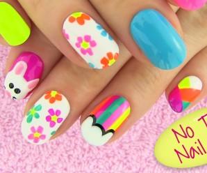 5 nail art sin herramientas