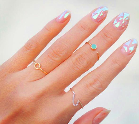 Glass nails, uñas cristalizadas 3
