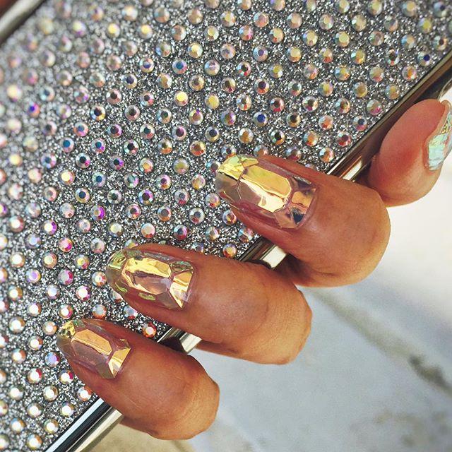Glass nails, uñas cristalizadas 4