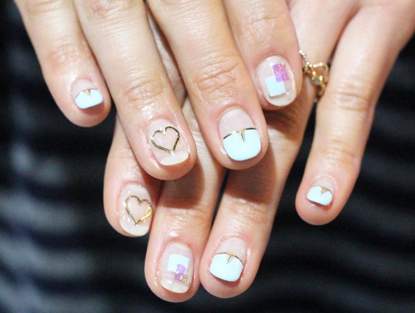 Wire Nails uñas decoradas con alambre 4