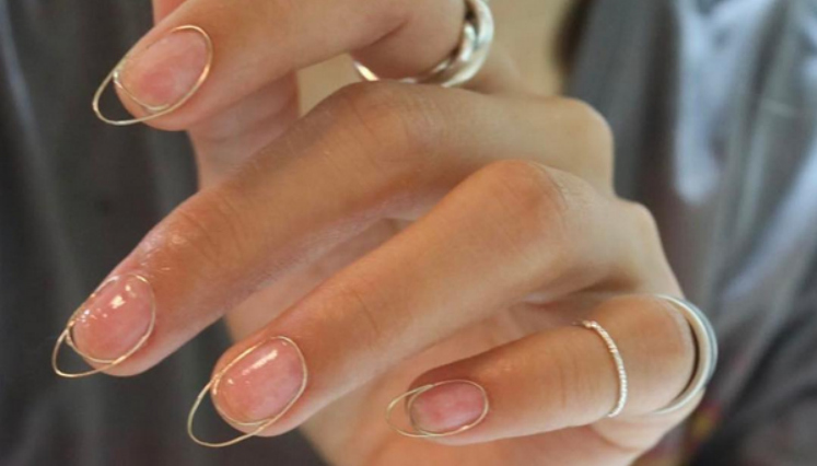 Wire Nails Uñas Decoradas Con Alambre Decoración De Uñas
