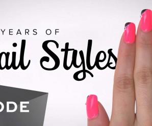 Las tendencias de decoración de uñas en los últimos 100 años