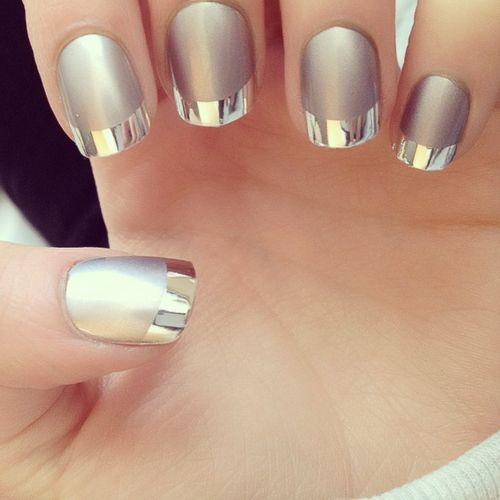 Cómo hacer uñas espejo en casa con esmalte normales ¡Muy facil! 2