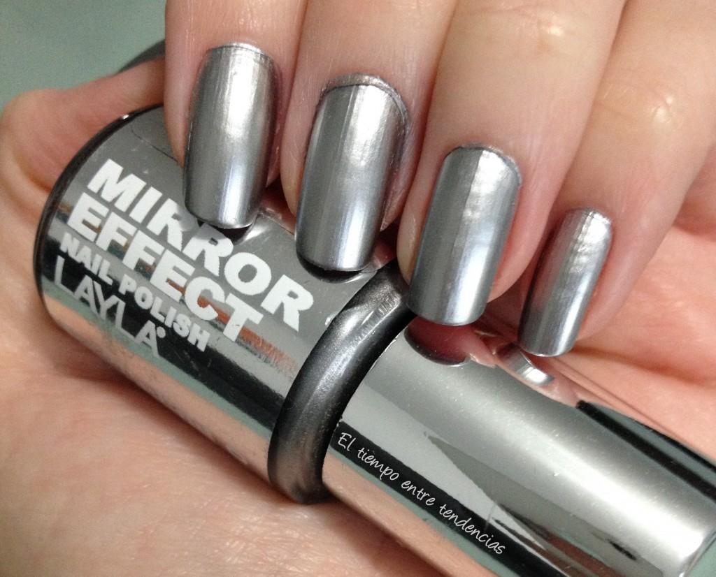 Cómo hacer uñas espejo en casa con esmalte normales ¡Muy facil! 4