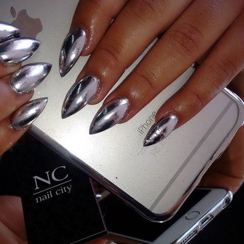 Cómo hacer uñas espejo en casa con esmalte normales ¡Muy facil!