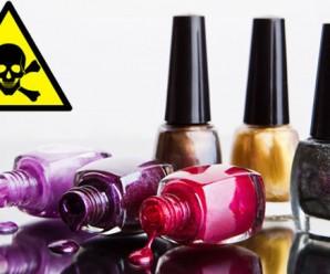 Al aplicar esmalte de uñas ¿Que le sucede a tu cuerpo?