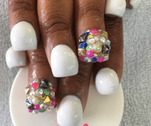 Bubble nails: decoración de uñas con burbujas