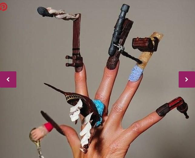 Las 10 ideas de manicura mas originales 1